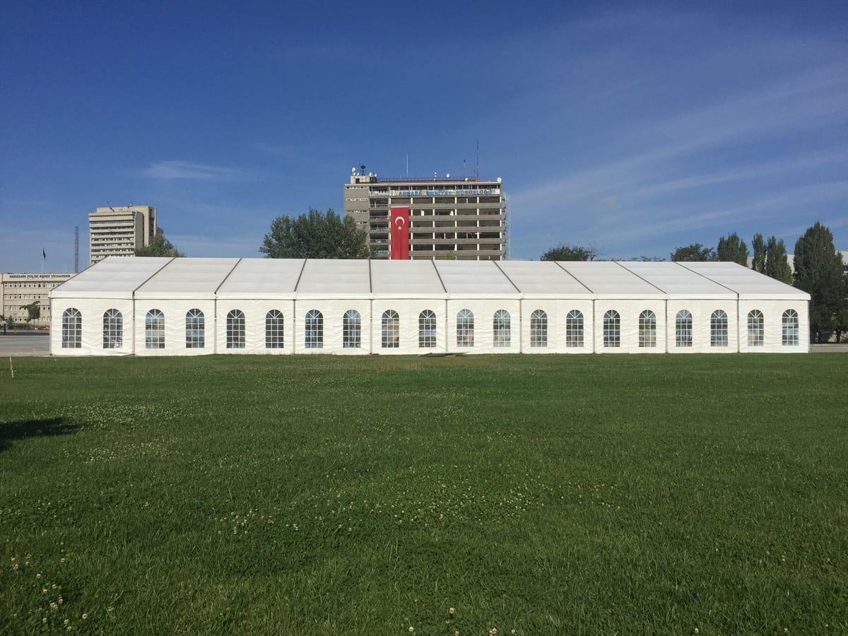 A large paris event temporary structure